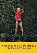 SPORT GOLF JOUEUR DE GOLF GOLFEUR  TATOUAGE  TATOO  PUBLICITE STIMOROLL ED BOOMERANG NL - Golf