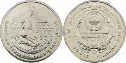 """TAILANDIA  /   THAILAND   20  BATH  2015   2.015 Cu Ni  """"20 Baht (Humanitarian Soil Scientist Award)""""    T-DL-11.429 - Thaïlande"""
