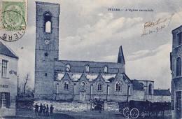 WIERS : L'église Incendiée - Belgium