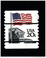 UNITED STATES/USA - 1981  20c. FLAG SUPREME COURT COIL PERF. 10 VERT  MINT NH - Stati Uniti