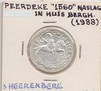 """@Y@    """"Heerenberg  """"t Peerdeke 1988  Naslag 1560  In Hun Eigen Munthuis.        (4546) - Elongated Coins"""