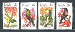 VENDA 1981  N° 38/41** Neufs MNH Superbes Cote 3 € Faune Oiseaux Birds Fauna Animaux - Venda