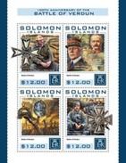 Solomon Eilanden - Postfris / MNH - Sheet Strijd Bij Verdun 2016 - Solomoneilanden (1978-...)