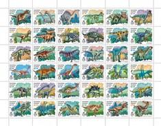 Solomon Eilanden - Postfris / MNH - Sheet Dinosaurussen 2016 - Solomoneilanden (1978-...)