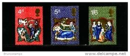 GREAT BRITAIN - 1970  CHRISTMAS  SET  MINT NH - 1952-.... (Elisabetta II)