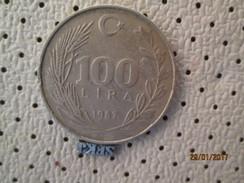 TURKEY 100 Lira 1987 # 2 - Turkey