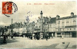 03 . Moulins . Place D'Allier. - Moulins