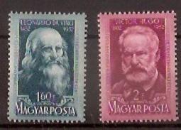 HUNGARY  1952, Da Vinci, V. Hugo