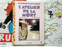 BD Jimmy Tousseul - Tome 2 - L'atelier De La Mort - Desorgher - Desberg (E.O.) - Jimmy Tousseul