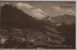 Corbeyrier (1000 M Alt.) Tour D'Al (2334 M) Phototypie No. 2746 - VD Vaud