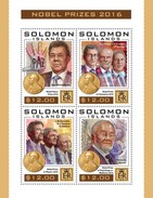 Solomon Eilanden - Postfris / MNH - Sheet Nobelprijs 2016 - Solomoneilanden (1978-...)