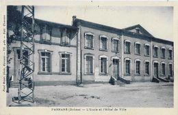 Parnans (Drôme) - L'Ecole Et L'Hôtel De Ville - Photo Paul Boyer - Francia