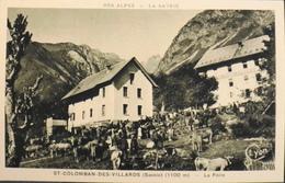 C.P.A. - FRANCE - La Foire Aux Bestiaux - Saint-Colomban-des-Villards Est Situé Dans Le Département De La Savoie - TBE - France