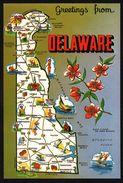 Carte Géographique De  Delaware - Dover - Peach Blossom - MARRIOTT - H.S. CROCKER Co - Non Classés