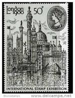 GREAT BRITAIN - 1980  LONDON STAMP EXIBITION   MINT NH - 1952-.... (Elisabetta II)