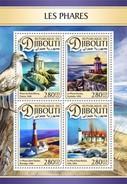 Djibouti - Postfris / MNH - Sheet Vuurtorens 2016 - Djibouti (1977-...)