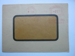 Firmen Freistempel , Meterstempel Auf Beleg Aus   DELITZSCH  1930 - Deutschland
