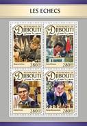 Djibouti - Postfris / MNH - Sheet Schaken 2016 - Djibouti (1977-...)