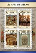 Djibouti - Postfris / MNH - Sheet Kunst Van De Islam 2016 - Djibouti (1977-...)