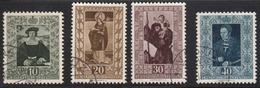 Liechtenstein 1953 Cancelled, Sc# 266-269