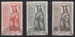 Liechtenstein 1954 Cancelled Sc# 284-286