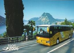 2006  SUISSE - Schweiz -Mi. P 316 + P 317  1906 -2006 100 Jahre PostAuto Schweiz - Enteros Postales