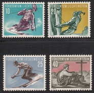 Liechtenstein 1955 Mint No Hinge, Sc# 289-292 - Liechtenstein