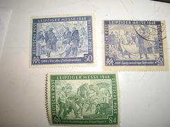 ALLEMAGNE 1948 LEIPZIGER  MESSE - Allemagne