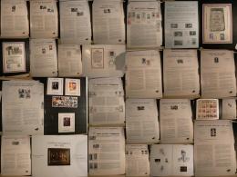 Lot De Gaulle, Libération, Déportés, Résistants - Ensemble Timbres, Feuillets Et Documents - 28 Photos - Guerre Mondiale (Seconde)
