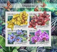 Mozambique - Postfris / MNH - Sheet Orchideëen 2016 - Mozambique
