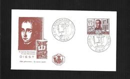 BELGIQUE 27/05/1965 FDC COB 1335 DIEST-COLLEGE ST JEAN BERCHMANS - 1961-70