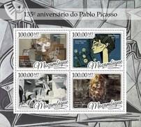 Mozambique - Postfris / MNH - Sheet Pablo Picasso 2016 - Mozambique