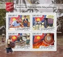 Mozambique - Postfris / MNH - Sheet Leger Des Heils 2016 - Mozambique