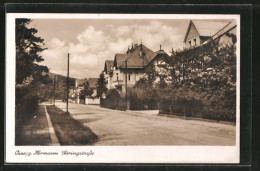 AK Ossegg, Blick In Die Hermann Göringstrasse - Tschechische Republik
