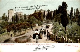 TURQUIE - Constantinople - Carte Voyagée - Bon état - 21603 - Turquia