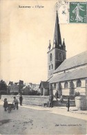 76 - LUNERAY ( Environs De Dieppe ) LOT DE 2 CPA : L'Eglise (rxtérieur Et Intérieur ) - CPA  - Seine Maritime - France