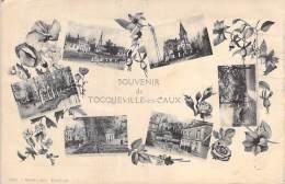 76 - TOCQUEVILLE EN CAUX : Souvenir De ... - CPA -  Seine Maritime - France