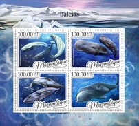 Mozambique - Postfris / MNH - Sheet Walvissen 2016 - Mozambique