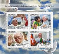 Mozambique - Postfris / MNH - Sheet Wereld Jongeren Dagen 2016 - Mozambique