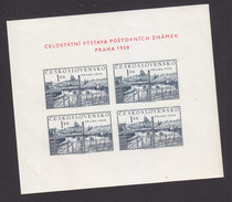Czechoslovakia, Scott #434a, Mint Hinged, Scenes Of Czecholovakia, Issued 1950 - Neufs