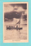 Reproduction?,Old/Antique,? Postcard Of Boat,Insel Helgoland,Schleswig-Holstein, Germany ,Q50. - Helgoland