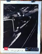 < Automobile Auto Voiture Car >> RARE Poster Affiche 50 X 65 Citroen DS Cabriolet Pin Up JVC Audio Hollande +/- 1985 - Turismo