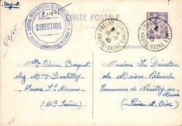 FRANCE - Entier Iris 1.20 Frs - 1945 - 21621 - Biglietto Postale