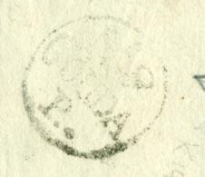 Nederland - 1807 - EO-omslag Met GOUDA P.. Naar Delft - Nederland