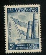 426552702 ARGENTINIE DB 1943 POSTFRIS MINTNEVER HINGED POSTFRIS NEUF YVERT 428 - Argentine