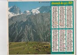 - CALENDRIER PTT Année 1979 - Paysage Des Hautes-Alpes  - - Calendars