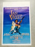 "Jan Zonder Vrees ""Jan Decleir,Jef Burn,Ann Petersen( Bande Dessinée Néerlandais ) - Affiches & Posters"