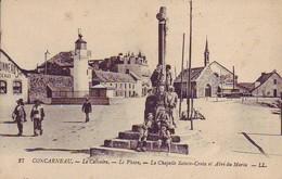 29 Concarneau - Le Calvaire - Le Phare - La Chapelle Sainte-Croix Et Abri Du Marin - Concarneau
