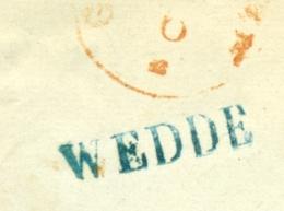 Nederland - EO-omslag Met Langstempel WEDDE En Rondstempel WINSCHOTEN Naar Groningen - ...-1852 Voorlopers