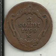 V52 - 2 SOLDI 1799 - Jugoslavia